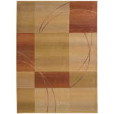 Oriental Weavers Generations 1608D Beige and Rust